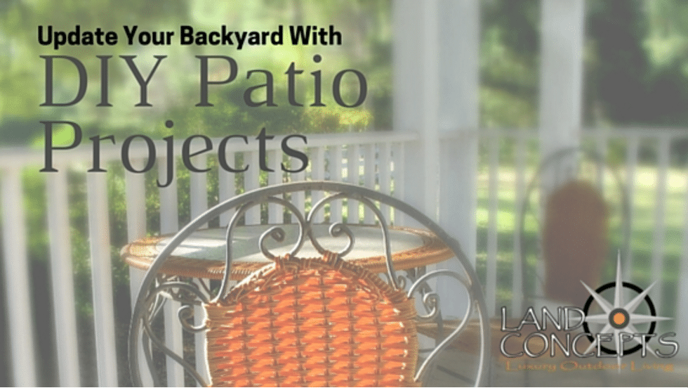 Update Your Backyard Patio with DIY Patio Projects