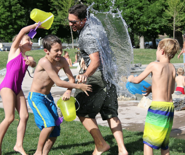 Backyard Water Activities That Won't Ruin Your Lawns