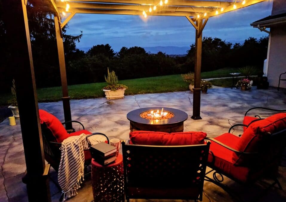 Creating Your Own Custom Outdoor Fire Feature